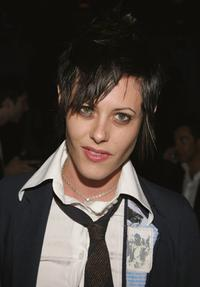 Katherine Moennig at the Calvin Klein Underwear Party.