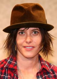 Katherine Moennig at the press conference promoting
