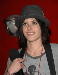 Katherine Moennig at the premiere of