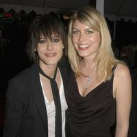 Katherine Moennig and Merideth Strom at the premiere