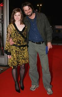 Julia Jentsch and Hans Weingartner at the premiere of