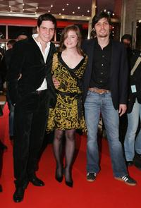 Daniel Bruehl, Julia Jentsch and Stipe Erceg at the premiere of