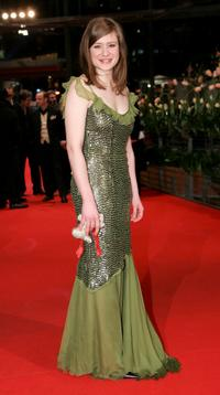 Julia Jentsch at the premiere of