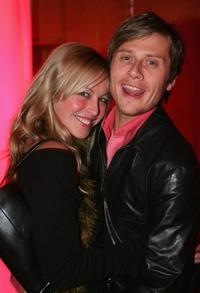 Stefanie Mensing and Roman Knizka at the premiere of