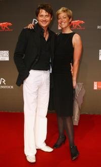 Roman Knizka and Stefanie Mensing at the 2009 New Faces Awards.