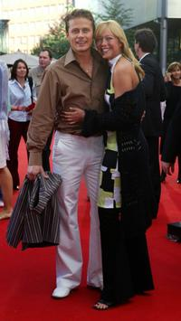 Roman Knizka and Stefanie Mensing at the German premiere of