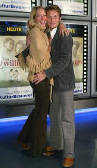 Stefanie Mensing and Roman Knizka at the German premiere of