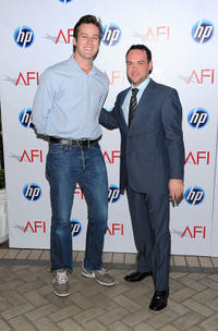 Armie Hammer and Dana Brunetti at the Eleventh Annual AFI Awards.