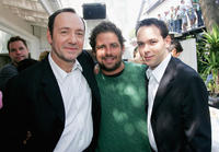 Kevin Spacey, Brett Ratner and Dana Brunetti at the 2004 Toronto International Film Festival.
