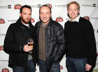 Dana Brunetti, Kevin Spacey and David Daniels at the screening of