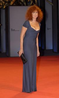 Sabine Azema at the 63rd Venice Film Festival, attends the premiere of the