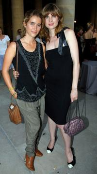 Vahina Giocante and Cecile Cassel at the 25th edition of