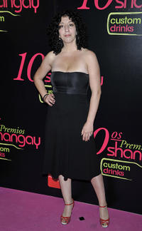 Monica Cervera at the Shangay Awards 2010 in Madrid.