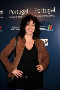 Monica Cervera at the MTV's Europe's West Coast party.