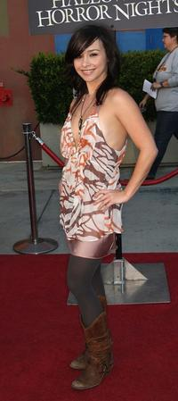Danielle Harris at the Universal Studios' Chiller Eyegore Awards Halloween Horror Nights Kick-Off.