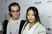 Jesse Janzen and Kristy Wu at the premiere of