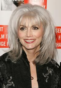 Emmylou Harris at the first annual gala dinner and concert to benefit the international human rights group.