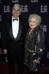 Timothy J. McCallion and Estelle Harris at the Los Angeles Gay and Lesbian Center's 31st Anniversary Gala.