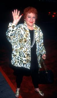 Estelle Harris at the New York premiere of