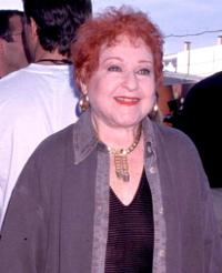 Estelle Harris at the premiere of