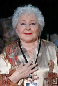 Estelle Harris at the world premiere of
