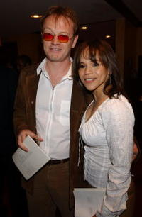 Jared Harris and Rosie Perez at the
