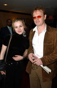 Jared Harris and Rachel Miner at the