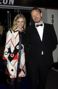 Jared Harris and Amelia Fox at the Times BFI London Film Festival Closing Gala Premiere.