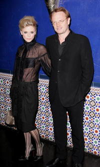 Jared Harris and Emilia Fox at the British Independent Film Awards.
