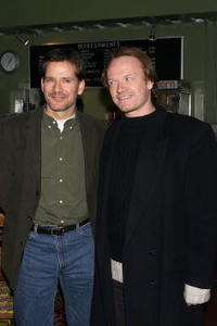 Jared Harris and Campbell Scott at the premiere of