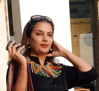 Shabana Azmi at the 11th Annual Mumbai Film Festival.