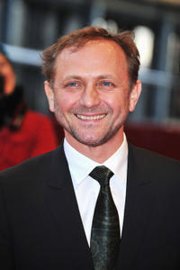 Andrzej Chyra at the premiere of