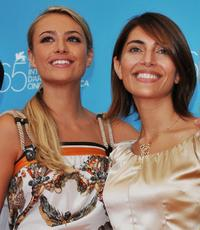 Martina Stella and Caterina Murino at the photocall of