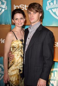 Jennifer Morrison and Jesse Spencer at the In Style Magazine and Warner Bros. Studios Golden Globe after party.
