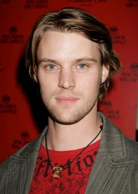Jesse Spencer at the opening of the New Kenneth Cole Flagship Store.