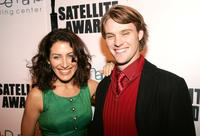 Lisa Edelstein and Jesse Spencer at the 10th Annual Satellite Awards.