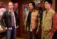 Neil Patrick Harris, Kal Penn as Kumar and John Cho as Harold in
