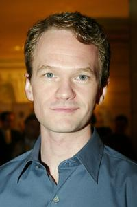 Neil Patrick Harris at the American Theater Wing luncheon honoring Isabelle Stevenson.