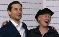 Rosemary Harris and Tobey Maguire at the photocall of the film