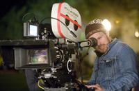 Director Marc Webb on the set of