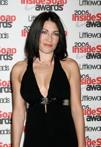 Liz May Brice at the Inside Soap Awards.