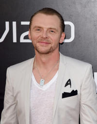 Simon Pegg at the California premiere of