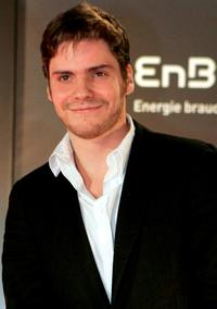 Daniel Bruhl at the Radio Regenbogen Award 2006.