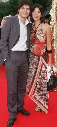 Daniel Bruhl and Jessica Schwarz at the Deutscher Filmpreis, the German Film Awards.