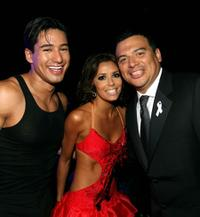 Mario Lopez, Eva Longoria and Carlos Mencia at the 2007 NCLR ALMA Awards.