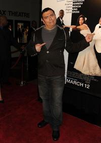 Carlos Mencia at the New York premiere of