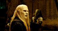 Ruthless leader Prince Nuada (Luke Goss) in