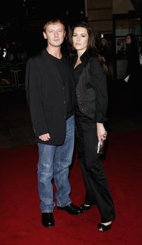 John Simm and Kate Magowan at the world premiere of