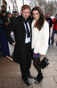 John Simm and Kate Magowan at the South Bank Show Awards.
