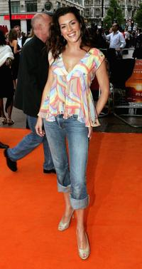 Kate Magowan at the UK premiere of